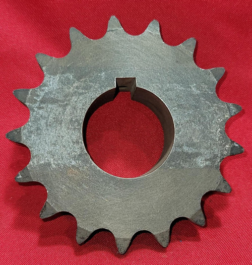 Martin 60B17 Solid B Sprocket - Bored to Size - 60 / 3/4 in, B Hub, 17 Teeth, 0.7500 in Stock Bore, Steel Material