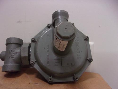 "Sensus 143-80 Gas Pressure Regulator 1"" (5"" - 8"" w.c.) 10PSI"