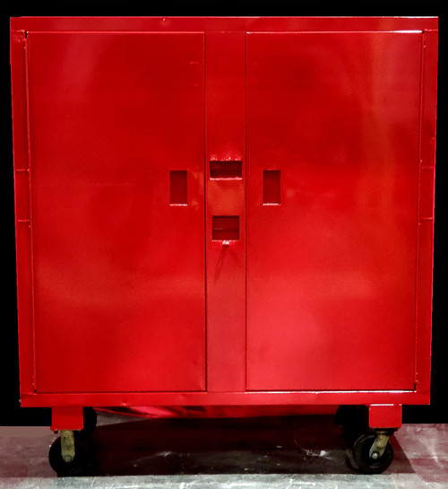 """DAYTON 6A579C TOOL CABINET w/ 6"""" CASTERS"""