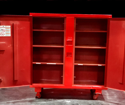 "DAYTON 6A579C TOOL CABINET w/ 4"" CASTERS"