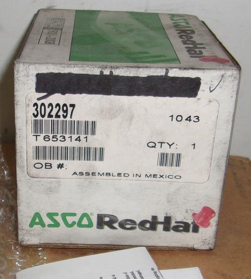 ASCO 302297 Solenoid Valve Rebuild Kit