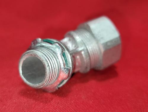 "O-Z Gedney 1/2"" 45 Degree Liquid Tight Connector - 4Q450"