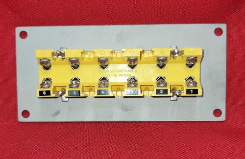 Marlin Manufacturing Type K Standard Size 6 Position Strip Panel 1032-6-K