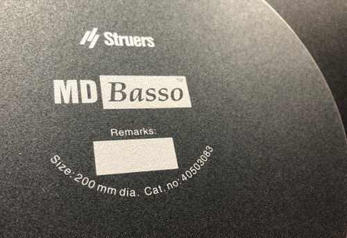 Struers MD Basso 40503083 Adapter For Self Adhesive Grinding Paper 4 pc