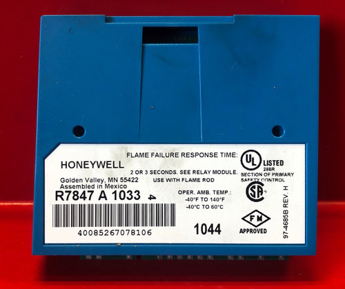 Honeywell Rectification Flame Amplifier R7847A1033