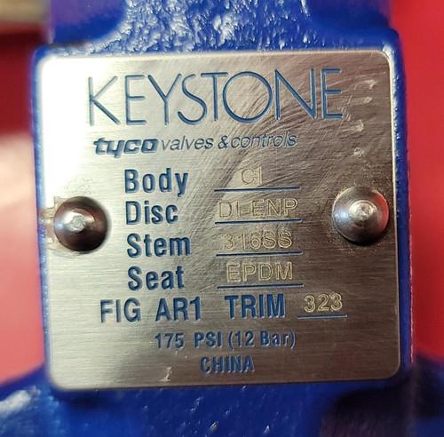 "Keystone 2""  Figure 221 Butterfly Valve"