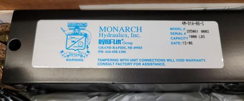 Monarch Hydraulics Dyna-Lift 4M-D1A-08-S