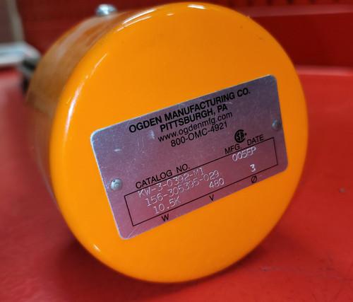 Ogden 10.5 KW Pipe Plug Immersion Heater - KW-3-0392-M1