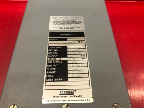 Foxboro 33C-AK-U Pressure Transmitter