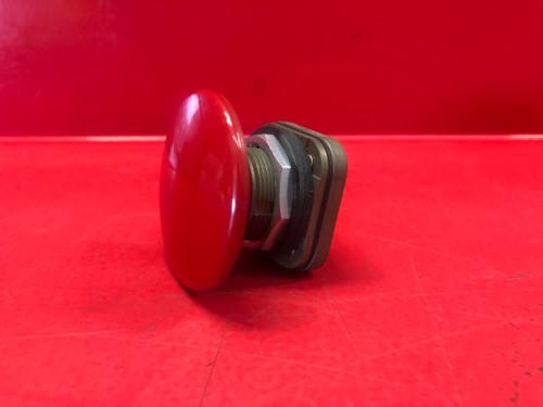Allen-Bradley 800T-D6L Red Mushroom Head Push Button