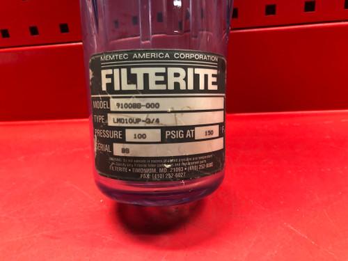 Filterite  910088-000  LMO10UP-3/4 Filter