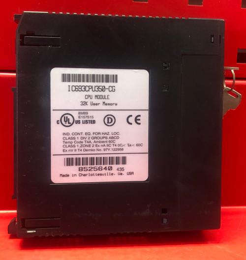 GE Fanuc IC693CPU350 CPU Module
