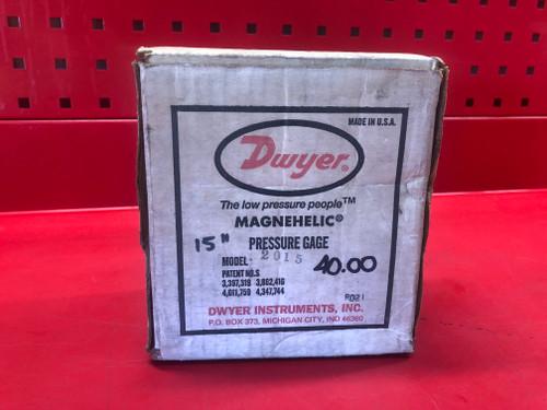 Dwyer 2015 Magnaehelic Pressure Gage