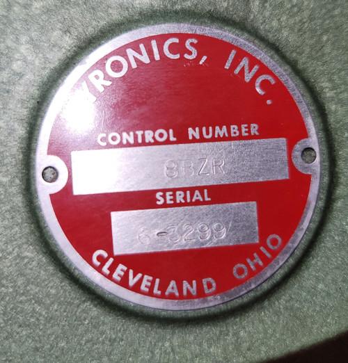 Pyronics 8BZR Regulator