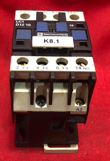 Telemecanique LC1-D1210 Contactor