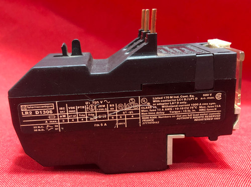 Telemecanique LR2-D1306 Thermal Overload Relay