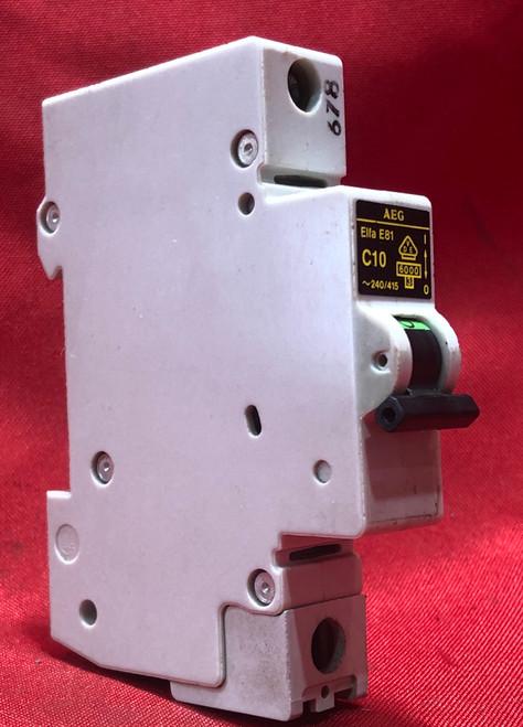 AEG Elfa E81 C10 Circuit Breaker