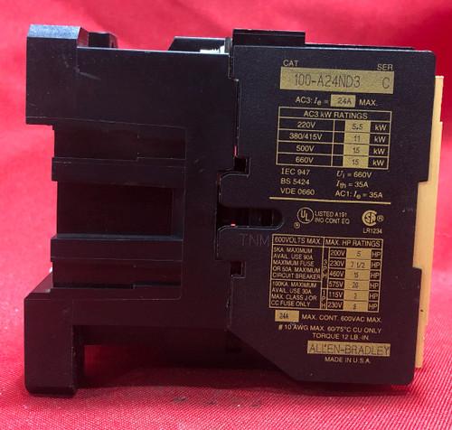 Allen Bradley 100-A24ND3 Magnetic Contactor