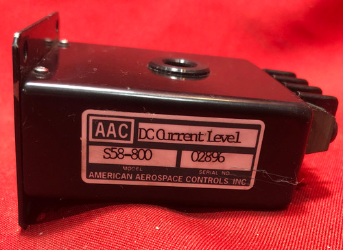 American Aerospace Controls S58-800 Current Level Detector