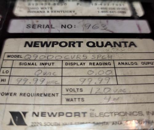 Newport Quanta Q9000CVR5 Digital Indicator/Controller