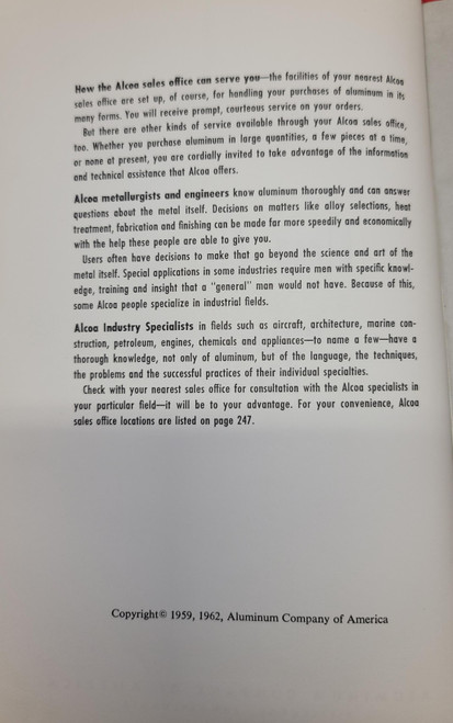 Alcoa Aluminum Handbook (1962)