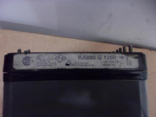 Honeywell RA890G1260 - 120V Flame Safe Guard Protectorelay