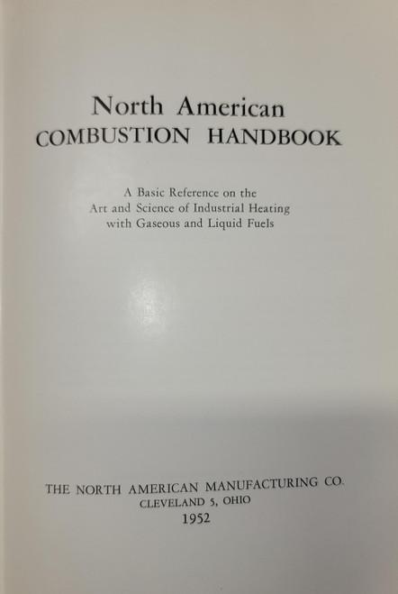 North American Combustion Handbook (1952)