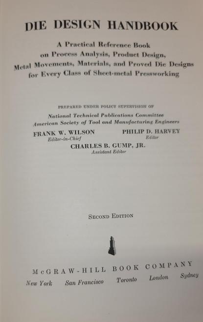 Die Design Handbook (ASTME)