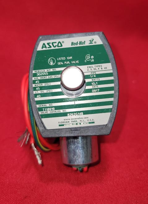 Asco Redhat 8262G148 Solenoid Valve