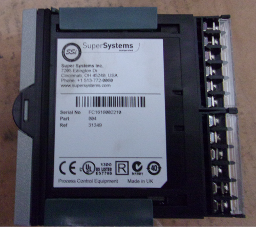 SSI Super Systems 804 Temperature Controller Part# 31349