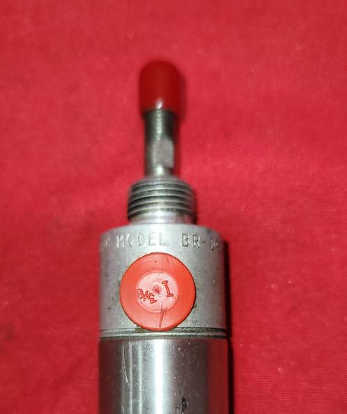 "Bimba Air Cylinder, Br-093-d, 3"" Stroke, 1"" Piston, 5/16"" Rod Sealed"