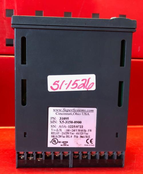 SSI Super Systems X5 Temperature Controller - Part#: 31095