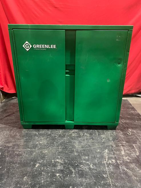 Greenlee 5660L 56 x 60 x 24-Inch Heavy Duty Steel Storage Utility Cabinet