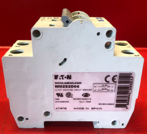 Eaton WMZS2D04 Circuit Breaker