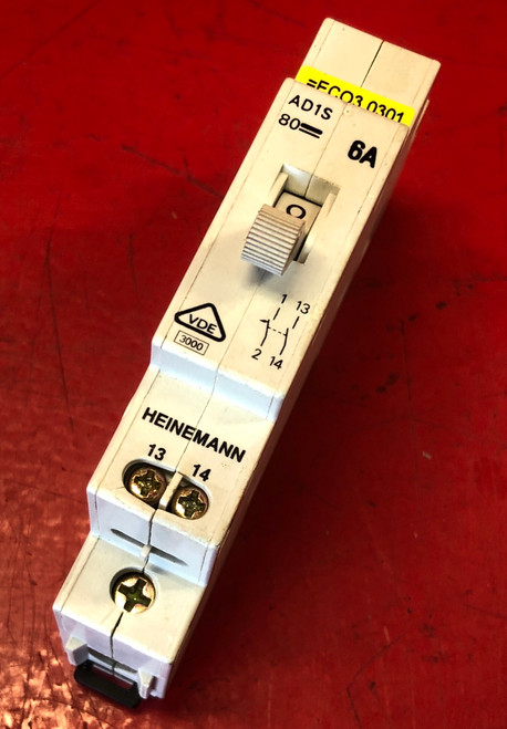 Heinemann AD1S-B2-AO-DN-H-A-61 Auxiliary Switch