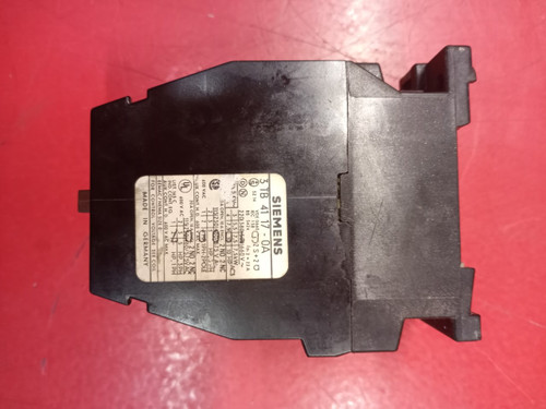 Siemens 3TB4117-0A Contactor