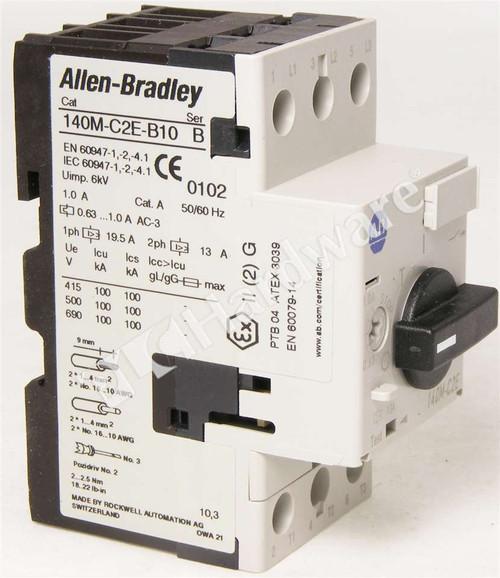 Allen Bradley 140M-C2E-B10 Series B Circuit Breaker