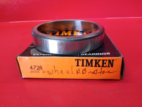 Timken 472A Tapered Roller Bearings - Single Cup
