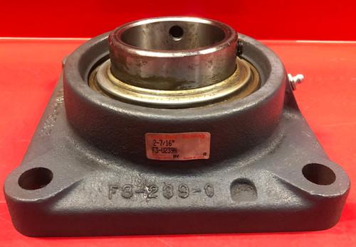 Link-Belt F3U239N Flange-Mount Ball Bearing Unit - 4-Bolt Flange