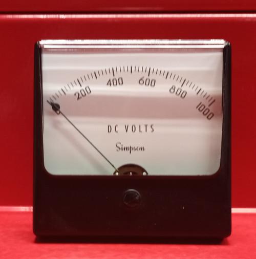 Simpson Electric Co. 1327 09860 Analog Panel Meter