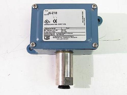 United Electric J6-218 Pressure Switch