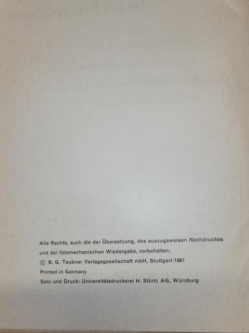 Einführung in die DIN-Normen (German Edition) by Martin Klein (1961)