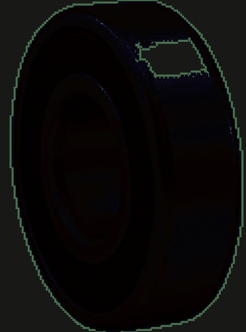 SKF 6207 2RS JEM Radial Ball Bearing