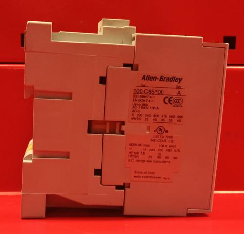Allen Bradley 100-C85*00 Contactor Series A