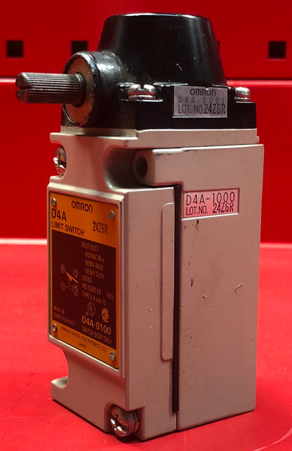Omron D4A-0100 Limit Switch Body