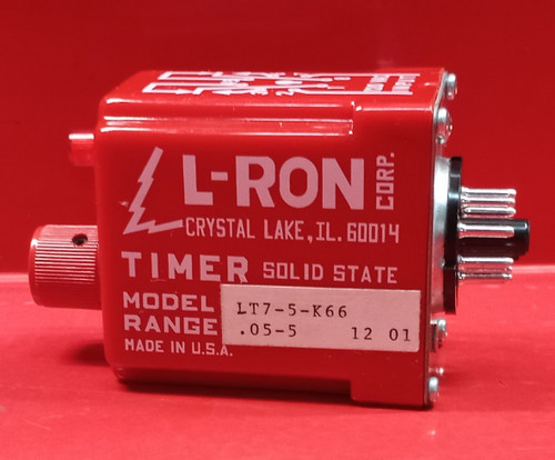 L-RON Corp. LT7-5-K66 Solid State Timer
