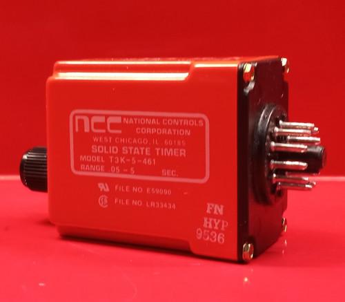 NCC T3K-5-461 Solid State Timer
