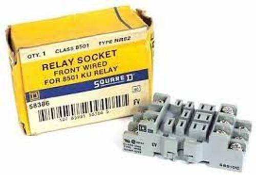 Square D 8501NR82 Relay Socket