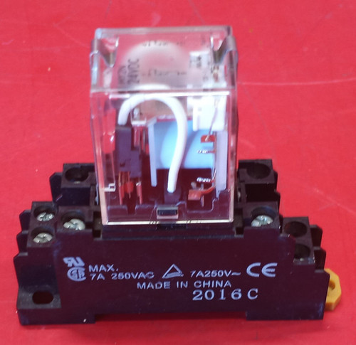Omron My2N 24VDC Relay With Omron PYF08A-E Relay Socket