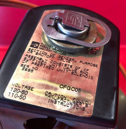 Parker CFGC05 Gold Ring Solenoid Valve